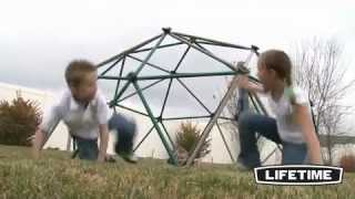Swingsets And Playsets Nashville Tn - Lifetime Dome Climber (earthtone) Jungle Gyms Tn