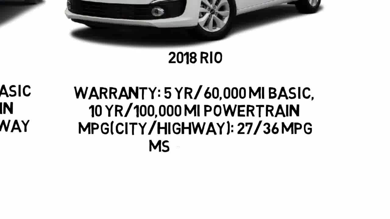 2018 Sonic Vs Kia Rio  YouTube
