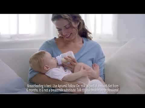 Baby milk advert shows girls becoming ballerinas and boys scientists