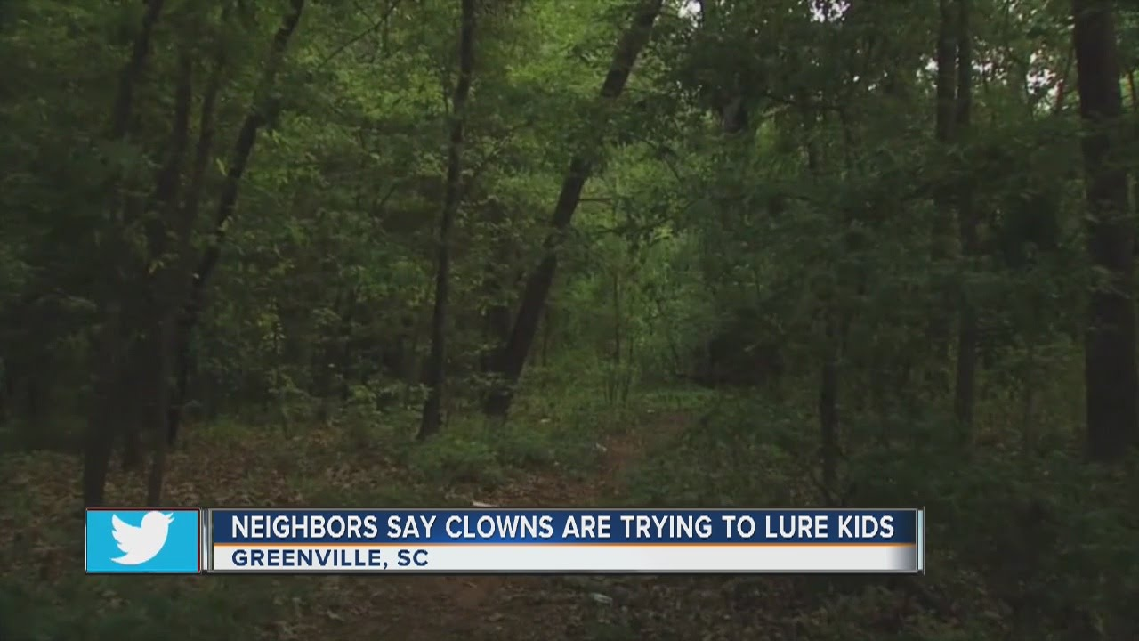 Creepy clowns in South Carolina are luring kids into the woods, police  reports say