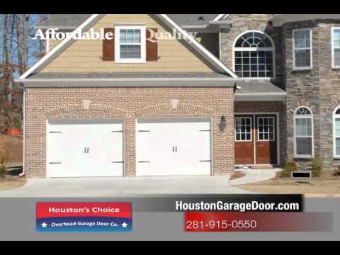 Houston Garage Door Repair Call Today 281 915 0550 Youtube