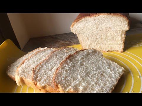 HOMEMADE WHITE BREAD RECIPE soft and fluffy milk bread recipe
