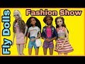 Barbie Fashion Pack Review- Chic pack and Glam pack- Doll Outfits/Barbie Fashion Show