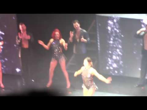 Dancing with the Stars DWTS Finale Cleveland Alex Newell & DJ Cassidy Kill The Lights