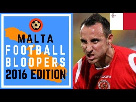 MALTA FOOTBALL BLOOPERS - 2015/16 EDITION - SOCCER FAILS EXTRAVAGANZA