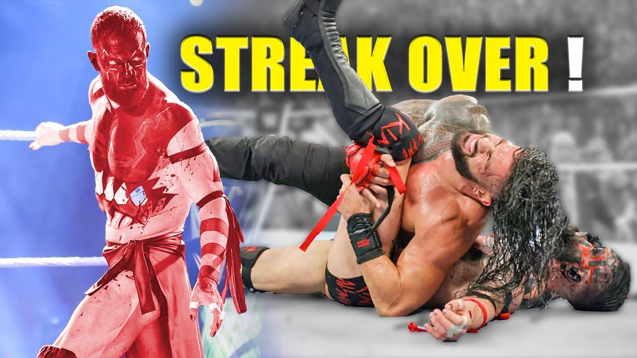 REAL REASON Why Demon Finn Balor Undefeated Streak Over Against Roman Reigns..WWE Extreme Rules 2021