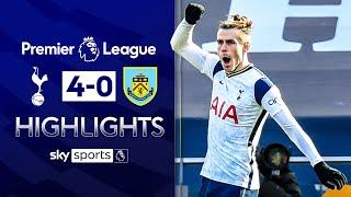 Bale stars as Spurs put FOUR past Burnley! | Tottenham 4-0 Burnley | Premier League Highlights