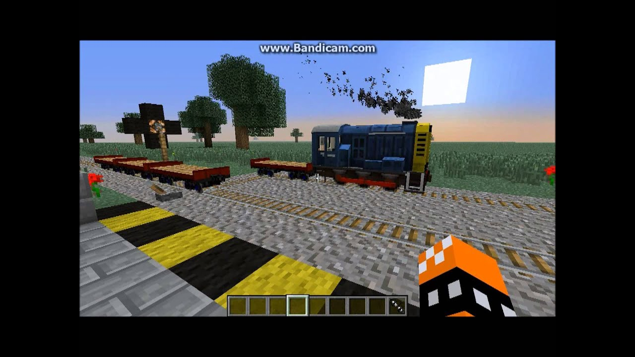 RailwayCraft - New traincraft map 8/17/13 Server still