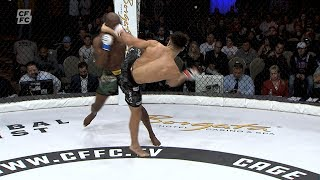 Paul Capaldo's incredible head kick - CFFC 71 FULL FREE FIGHT // Brought to you by Current Recovery