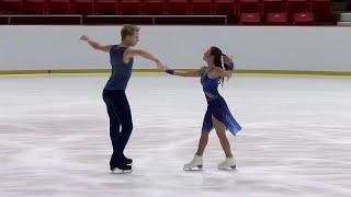 Диана Дэвис и Глеб Смолкин - вторые на Гран-при США. Произвольный танец. Танцы
