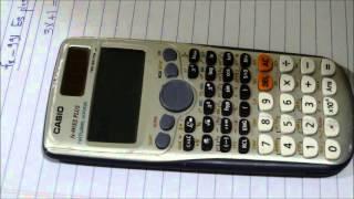 الالة الحاسبة كاسيو 991