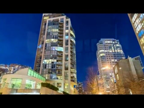 1403 - 907  Beach Avenue, Vancouver - Welcome to Coral Court!