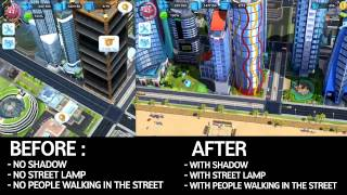 SimCity BuildIt - No Shadow Light Problem [SOLVED]