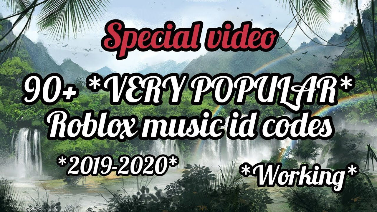 90 Very Popular Roblox Music Id Codes Working 2019 2020