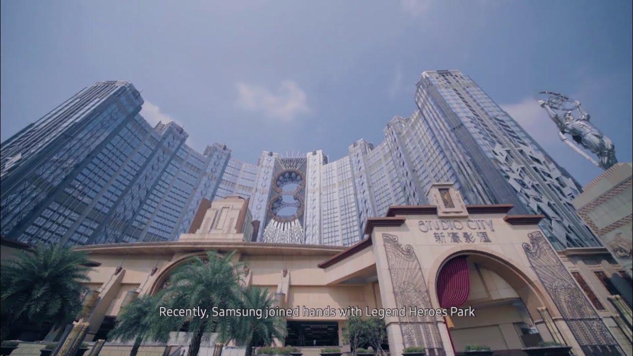 SMART Signage Solutions: Case Study - Macau Legend Heroes Park I Samsung