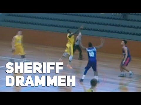 Sheriff Drammeh Hits Insane 3/4 Court Game Winner For Sweden Vs GB U20s!