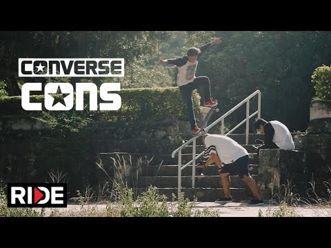 Absar Lebeh and the Converse CONS One Star Pro