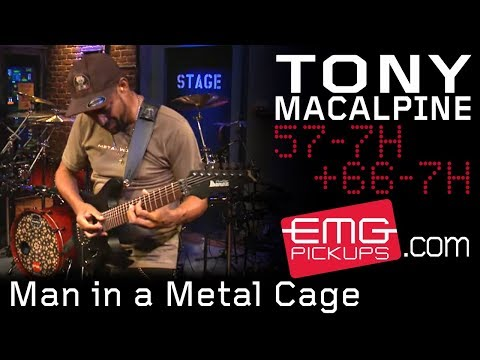 Man in a Metal Cage