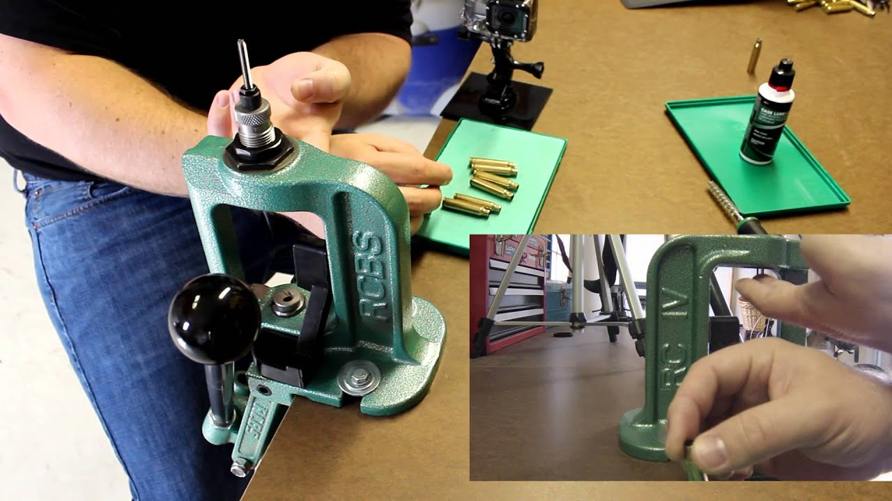 Beginners Guide to Handloading - Part 2d: Depriming and Resizing