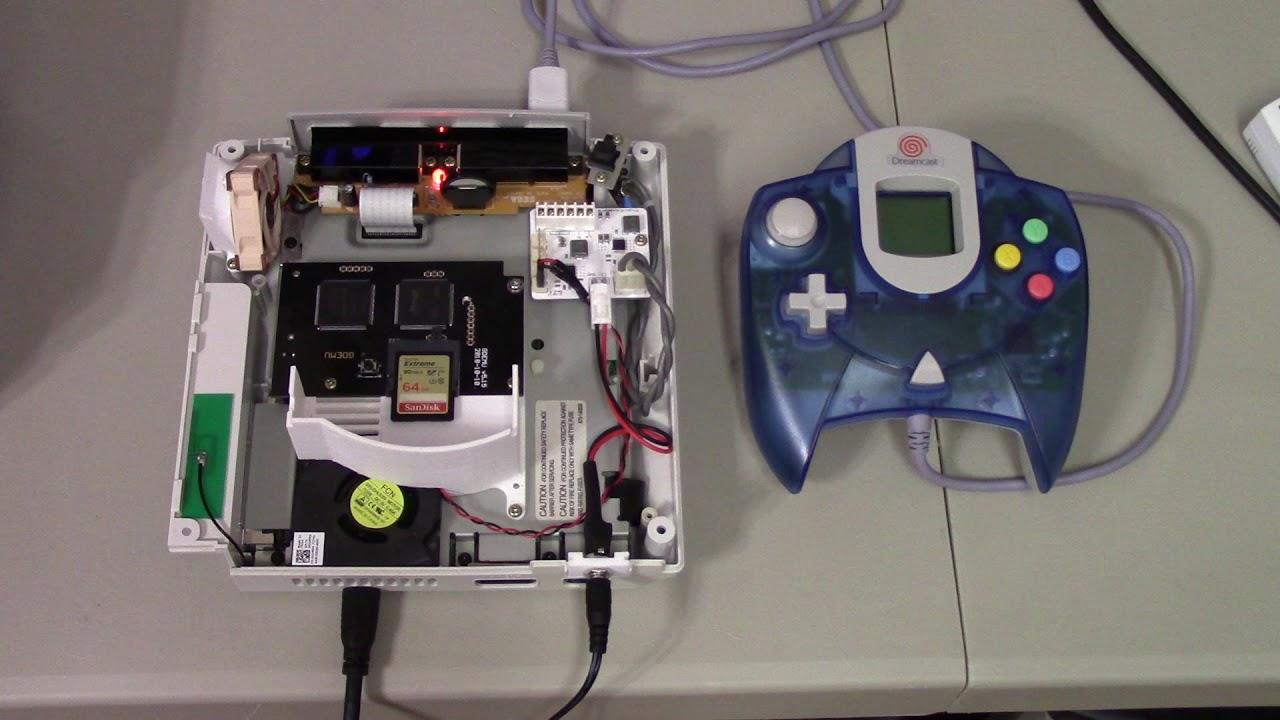 Dreamcast Laptop Fan Mod w/ DCHDMI & GDEMU