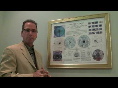 IRIDOLOGY: Iris Diagnosis by Dr. Aaron Chadwick, Florida Natural Healthcare Center