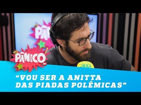 """""""Vou ser a Anitta das piadas polêmicas"""", diz Rafinha Bastos"""
