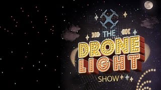 The Drone Light Show | 30 Drones in the sky