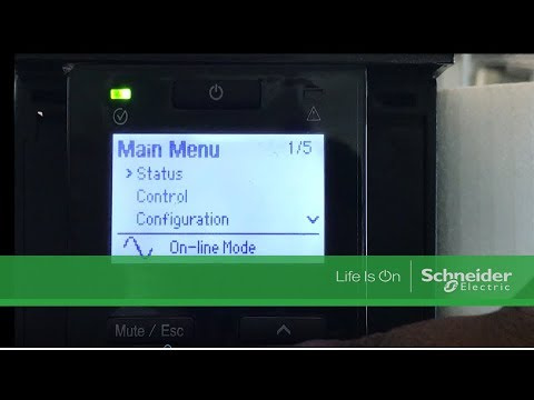 Let's learn how to disable on battery beep of SRC10KUXI through the display.
