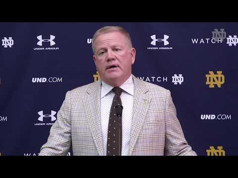 Brian Kelly Press Conference USC Week