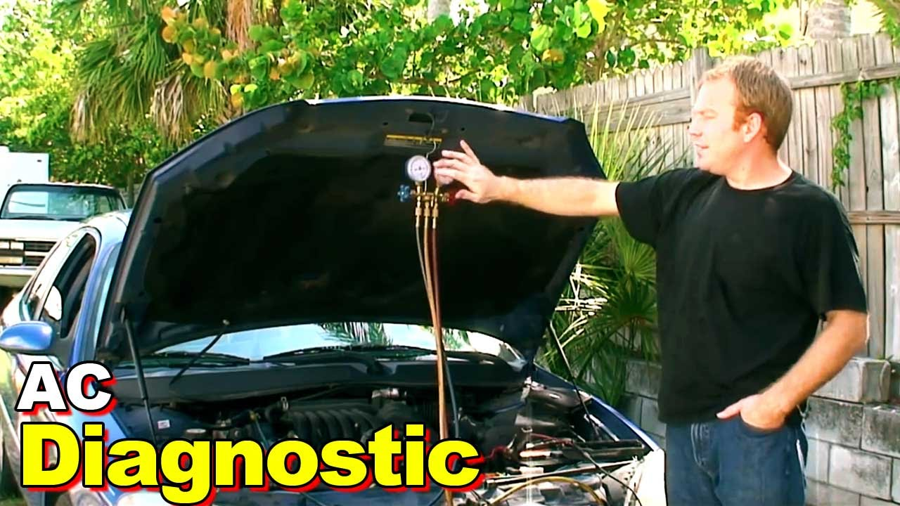 2003 Ford Taurus Ac Diagnostic Youtube Air Conditioning Diagram On Water Pressure Switch Wiring