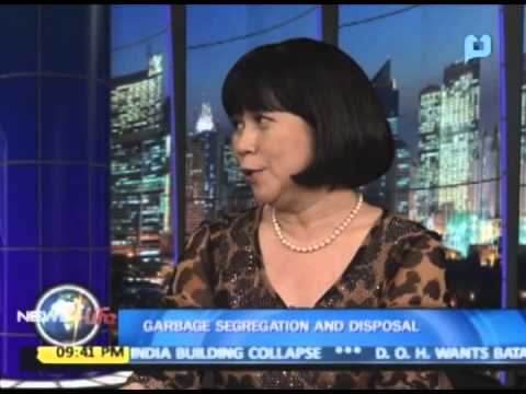 NewsLife Interview: Ms. Marilen Medina Ruiz on MMDA's program on garbage segregation and disposal