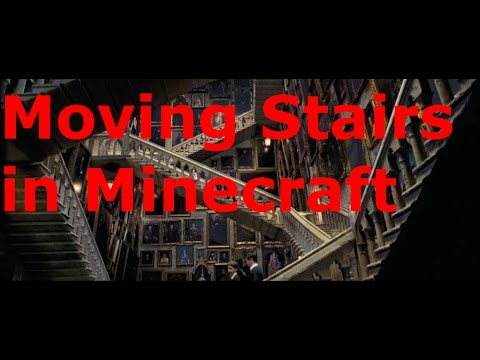 Moving Harry Potter Stairs Minecraft