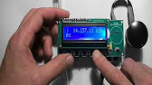 Synthesizer on Mega 2560 + 3.2 TFT LCD + Si5351 for Amateur Radio .
