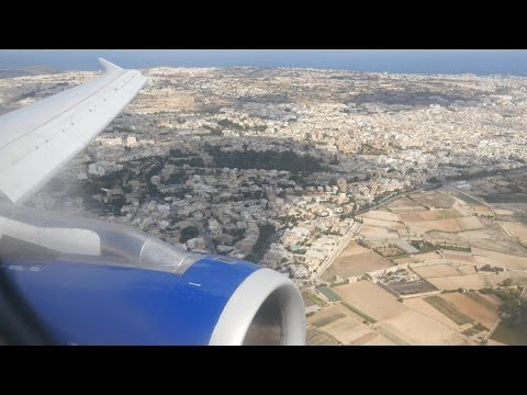 (4K) British Airways A320 | Gatwick to Malta | Club Europe Flight Video  - BA2644