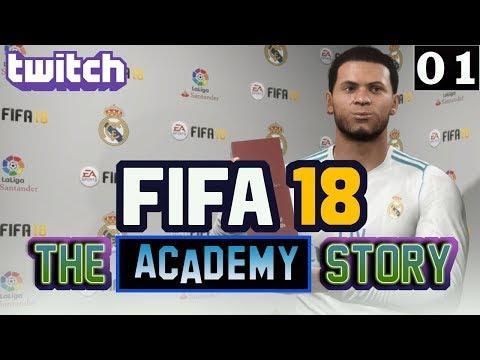 FIFA 18 - The Academy Story – Episode 1 - Season 4