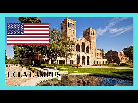 A tour of the famous UCLA campus (University of California, Los Angeles)