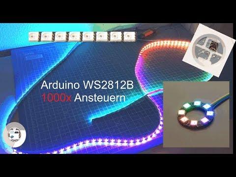 Arduino WS2812B Neopixel Strip Ansteuern