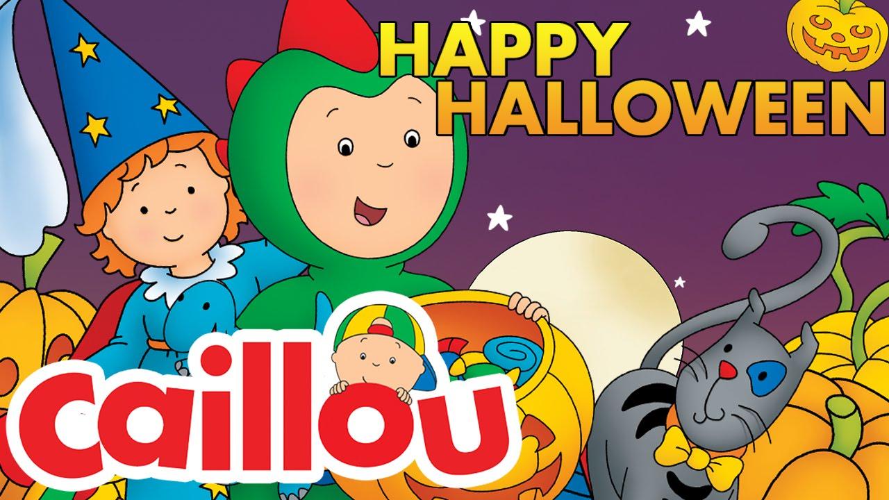 Caillou - Happy Halloween! | Cartoon for Kids - YouTube