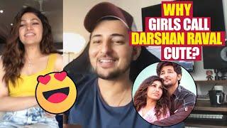Darshan Raval Reveals Why Girls CALL Him Cute? | Tulsi Kumar | IS QADAR