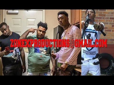 Baton rouge Rapper Fredo Bang & Cleezy of TBG say want ALL Smoke wit NBA Youngboy