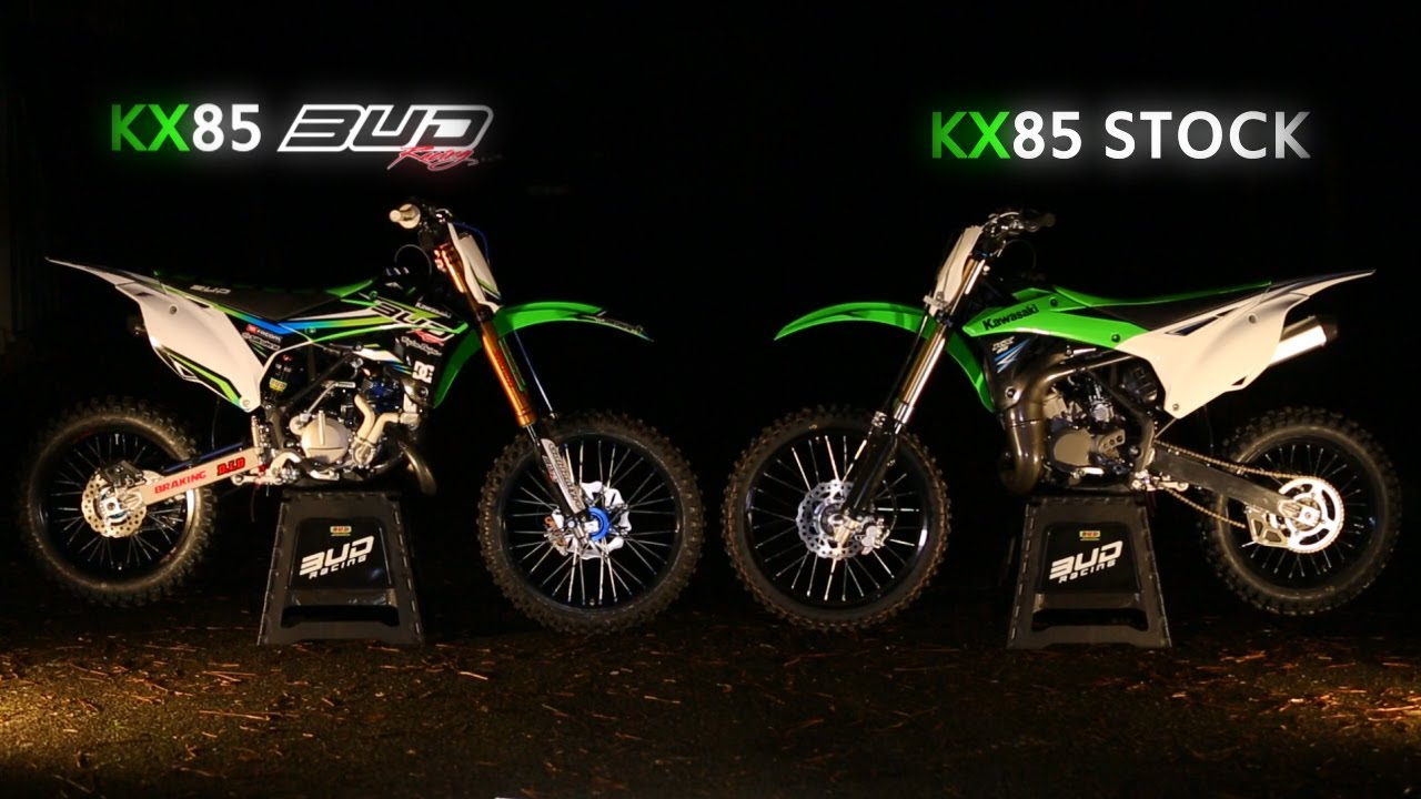 The New KX 85 by Bud Racing