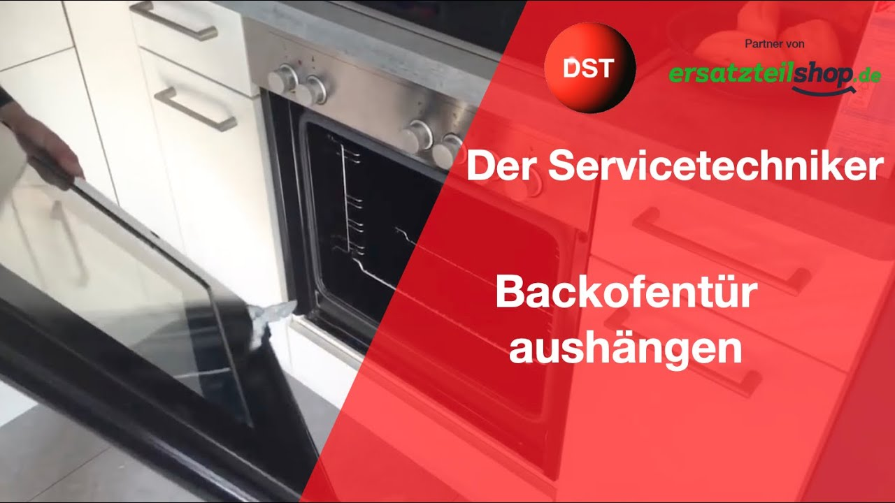 Backofentur Reinigen How To Backofenscheibe Aushangen Youtube