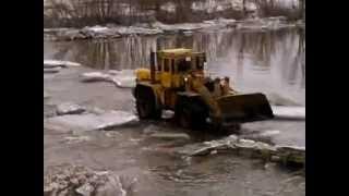 Расчистка моста село Заречное , река Олым