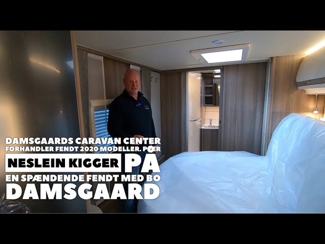 Fendt Tendenza 650 SFDW - 2020 model hos Damsgaards Caravan Center - Silkeborg