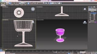 3D Max. Урок №13. Модификатор Lathe. Создание тела вращения.