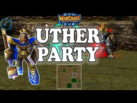 Grubby   Warcraft 3 The Frozen Throne    Uther Party!