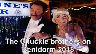 The ChuckleBrothers on Benidorm 2018