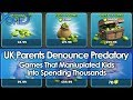 UK Parents Denounce Predatory Games That Manipulated Kids Into Spending Thousands
