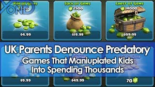 UK Parents Denounce Predatory Games That Manipulated Kids Into Spending Thousands thumbnail