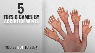 Top 10 Accoutrements Toys & Games [2018]: Accoutrements Finger Hands-Set of 5